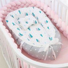 Co-Sleeping Cribs Baby Portable Bed Baby Cradle Nest Bed Baby Chaise Longue Bumpers In Crib Basket Travel Beds Cushion Baby Cot