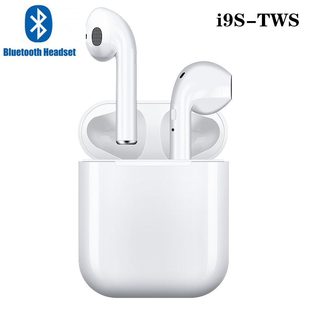 I9s Tws Bluetooth 5.0 Earphone Mini Headphone Wireless Earbuds Sport Headset With Charging Box Mic For Xiami Huawei Smart Phone