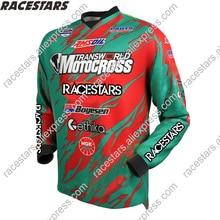 RACESTARS Motocross MX DH Long Sleeve MTB Moto Jersey Cross-country Motorcycle Riding Downhill mtb jersey Cycling