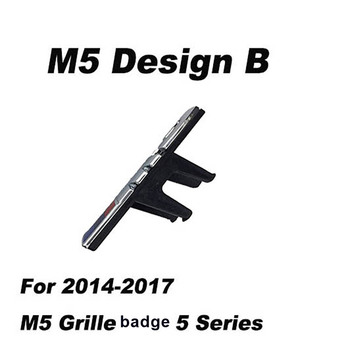 Front Grill Slot badge for M Emblem for M3 sport 320 328 and General edition /M5 2009-2017 Original Grille ABS Electroplate car accessories front grille slot emblem vent bracket for m3 m5 m6 m2 m1 m4 m7 m8 m series m color car styling badge stickers