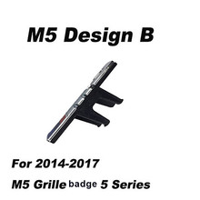 Front Grille badge for BMW M emblem M3 sport 320 328 and General edition /M5 2009-2017 original grill logo ABS Electroplate