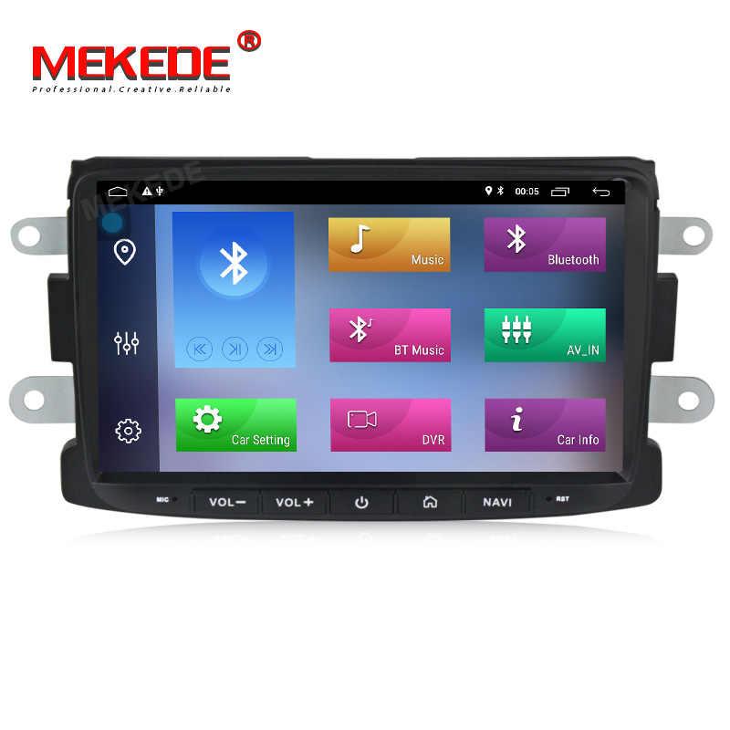 MEKEDE Автомобильный мультимедийный плеер Android 9 Automotivo 2 Din для Dacia/Sandero/Duster/Renault/Captur/Lada/Xray 2/Logan 2 GSP ram 2G