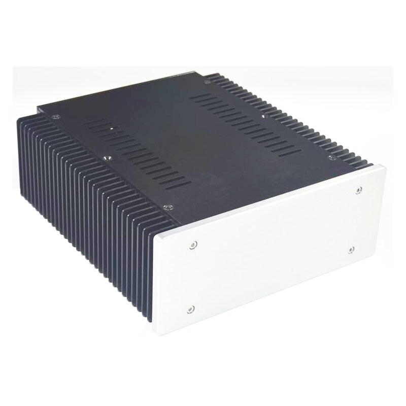 KYYSLB 260*230*90MM DIY Box Verstärker Fall Gehäuse WA135 Gebürstet Aluminium Nicht-poröse Klasse A power Verstärker Chassis Shell