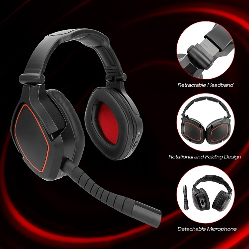 New Game Headset For Ps4 Nintendo Switch Pc Deep Bass Gamer Headphone Usb Wireless Gaming Headset Usb 7 1 Virtual Surround Sound Headphone Headset Aliexpress