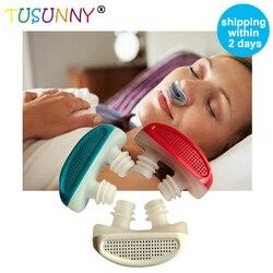 TUSUNNY 1PC nowość! PM2.5 Patent CPAP chrapanie urządzenie bezdech wentylacja aparat na bezdech senny przekrwienie nosa oczyszczacz powietrza