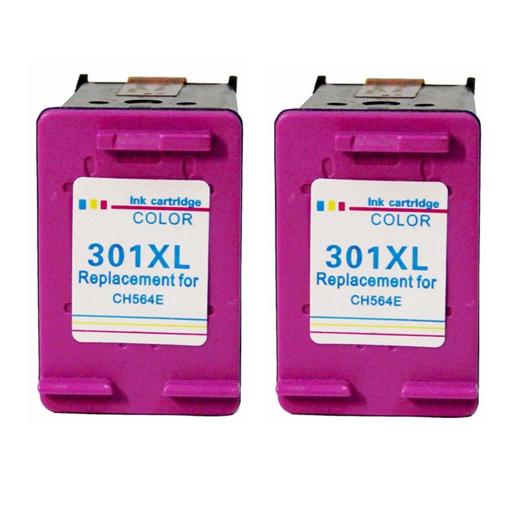 Remanufaturados para HP 301XL 301 XL Cartucho De Tinta Tricolor 2050A trabalhar com a HP Deskjet 1000 1010 1050 1510 2050 2540 impressoras