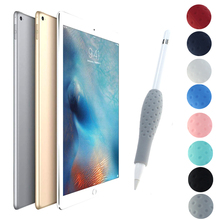 Silicone Ergonomic Grip Holder Protective Cover Case fundas for Apple Pencil iPad
