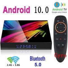 Приставка Смарт-ТВ, Android 10,0, 6K, Bluetooth, Wi-Fi, 2,4/5,8 ГГц, 4 + 64 ГБ