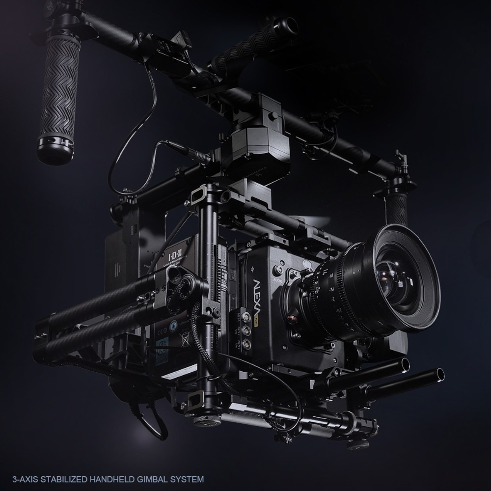 Newly <font><b>TILTA</b></font> Gravity 3-Axis Handheld <font><b>Gimbal</b></font> Staedycam System for RED EPIC, SONY F55, SONY FS7 and ARRI MINI image