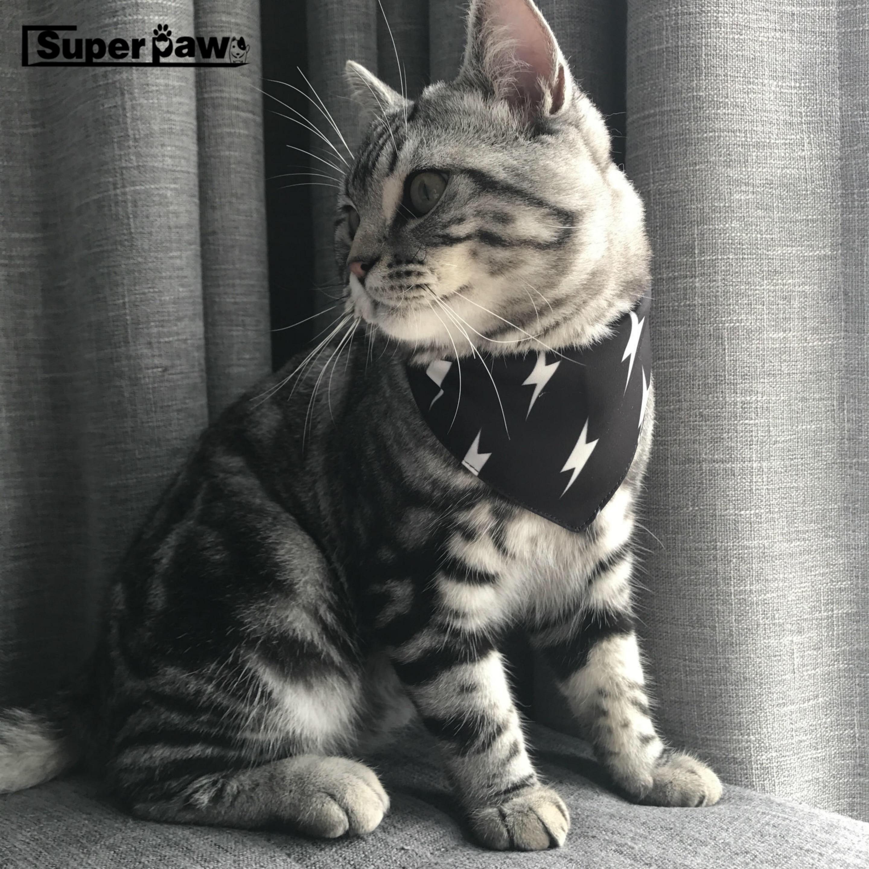 Cartoon Adjustable font b Pet b font Dog Cat Neck Scarf Fashion Tie Bowtie Necktie Bandana