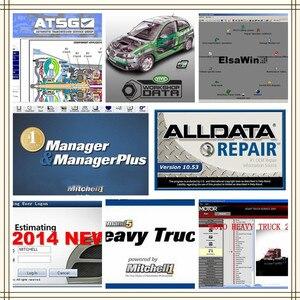 2020 Авто Ремонт Alldata и Mi...ell программное обеспечение alldata 10,53 + AutoData + m...hell на d .. и 2015 + ElsaWin + Vivid все данные hdd usb3