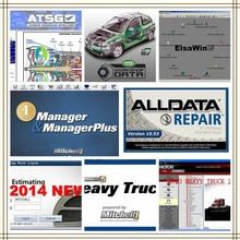 2020 auto reparatur Alldata und Mitchell software alldata 10.53 + AutoData + mitchell auf nachfrage 2015 + ElsaWin + Lebendige alle daten in hdd usb3