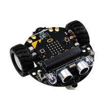 1 компл. микро:бит графический робот Программирование мобильных платформ смарт-авто В4.0 Линия Поддержки Патруль Рассеянный Свет Аксессуары