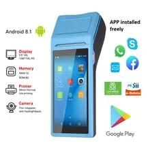 Pos-Terminal Thermal-Receipt-Printer Mobile-Pos-Machine Handheld Bluetooth Android Hot-Sale