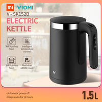 XIAOMI VIOMI Pro Electric Kettle Thermostat 1.5L 1800W Temperature Control Stainless Steel 5min Fast Boiling Water Kettle APP