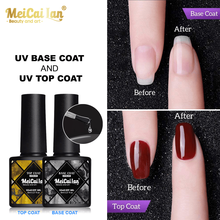 Base And Top Coat Gel Polish Top Coat UV Gel Long Lasting Soak Off UV Gel Nail Art UV Gel Primer Nail Polish Varnishes Primer