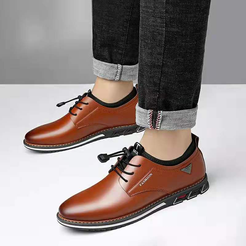Brand Summer Spring Leather Men Shoes Oxford Men's Casual Classic Sneakers For Male Comfortable Breathable Footwear