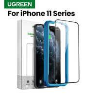 Ugreen Vetro di Protezione Per il iPhone 11 Pro Max 2019 Nuova Protezione Dello Schermo HD Trasparente di Copertura Completa di Vetro Su iPhone 11 pro Max di Vetro