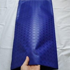 Image 4 - Tela africana Atiku de algodón suave, Material de Atiku para prendas de hombre, tela de encaje blanco, tela de encaje nigeriano, diferentes patrones