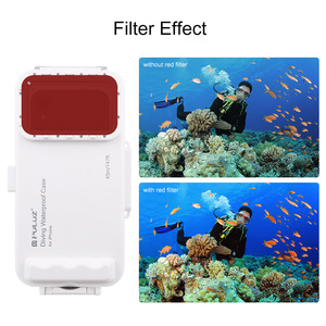 Image 3 - Cadiso 45m/147ft Waterproof Diving Housing Smartphone Dive Taking Underwater Cover Case for iPhone 11/X/8 Plus/8/7 Plus/7 iOS 13