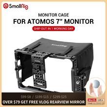 Клетка SmallRig Directors Monitor для 7 дюймового атомо Shogun Инферно и серии Flame с бесплатным солнцезащитным капюшоном 2008
