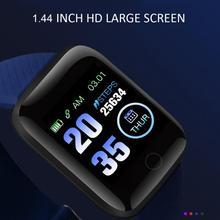 116 PLUS inteligentny zegarek bransoletka kolorowy ekran tętno monitorowanie ciśnienia krwi utwór ruch IP67 wodoodporna 2021 najnowszy tanie tanio centechia CN (pochodzenie) Brak Na nadgarstek Zgodna ze wszystkimi 128 MB Krokomierz Rejestrator aktywności fizycznej