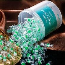 100 Uds Set filtro para fumar pipa tabaco Universal cigarrillos gruesos y delgados reducir Filtro de alquitrán accesorios para fumar
