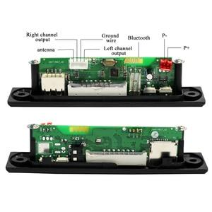 Image 3 - MP3 WMA WAV Drahtlose Bluetooth Decoder Board USB AUX 3,5 MM Auto Audio MP3 Player Modul TF FM Decoder Board mit Fernbedienung Für Auto
