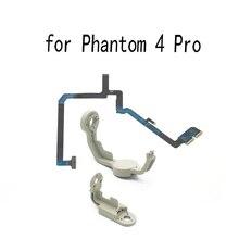Câmera yaw braço rolo suporte flex cabo de fita plana para dji fantasma 4 pro drone substituição reparação peças