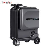 New Electric Riding Suitcase Bag Intelligent Rolling Travel Luggage Box Rideable trolley Case only 7.5 kg scooter Cabin Carry on