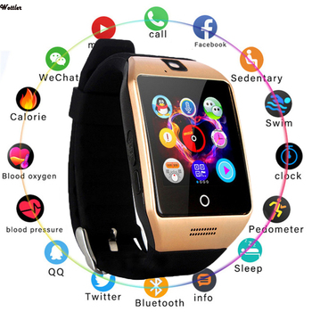 For Q18 Smart Watch Mobile Phone Exquisite Card Wear Beautiful Curved Fashion Gift Professional - discount item  65% OFF Smart Electronics