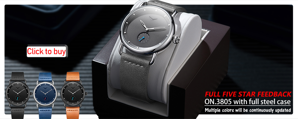 ONOLA mechanical watch for man top luxury brand lumious tonneau square big dial automatic watch man