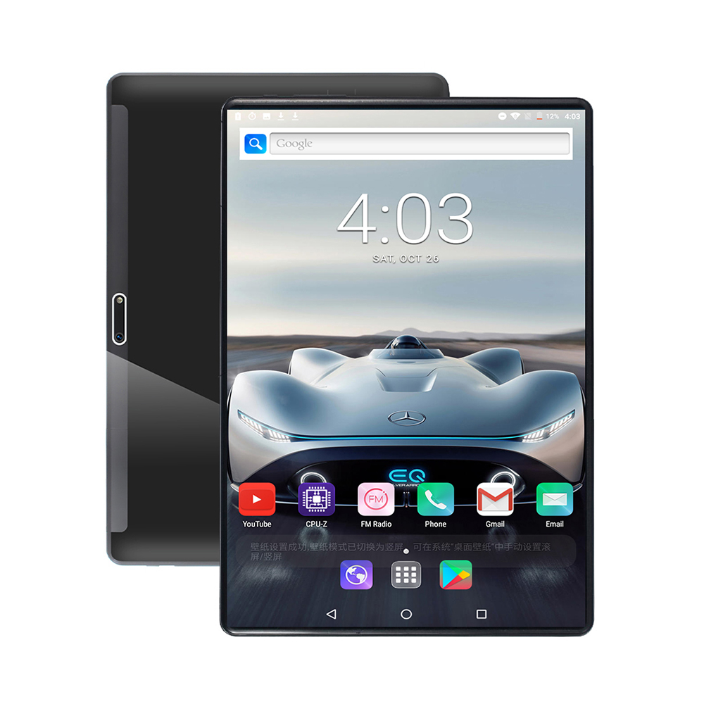 2020 Game Phone Tablet 10 Inch Tablet PC 4G LTE Android 9 Octa Core MT8752 Tablets 6GB RAM 128GB ROM Dual SIM Call Phone Tablet