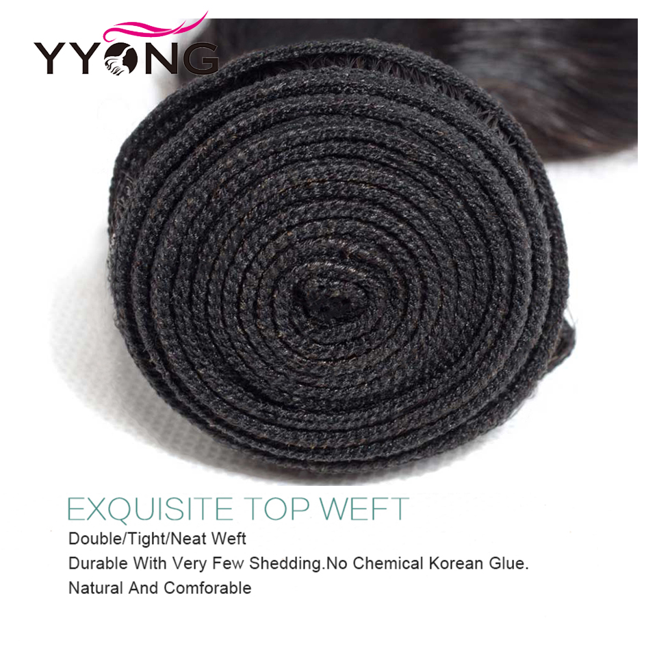 Yyong 4x4 Closure With Bundles  Body Wave With Closure 4 Or 5pcs Lot  Bundles With Closure 10-30inch 4
