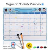 Monthly Planner-Blue