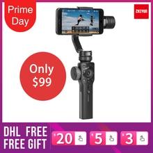 Zhiyun Glad 4 Q 3 Axis Handheld Gimbal Stabilizer Voor Smartphone Iphonex Actie Camera Gopro4/5/6 Pk Glad Q Dji Osmo 2