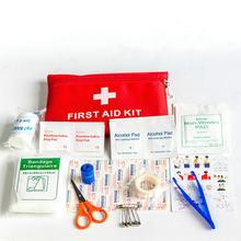 Аптечка первой помощи Портативный путешествия аварийного выживания