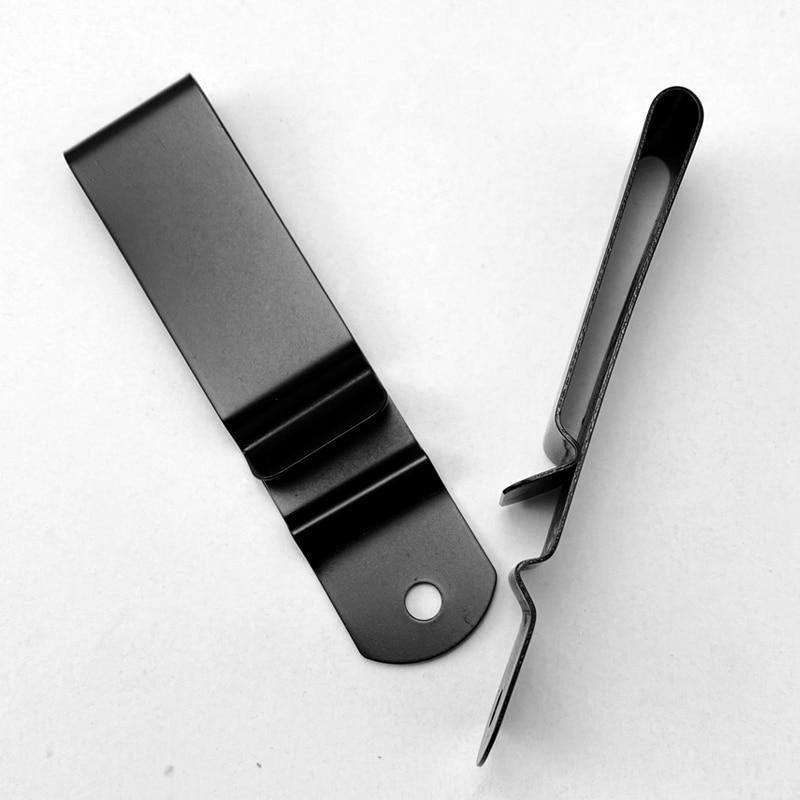 1piece K Belt Clip Kydex Waist Clips Cutter K Sheath Back Clip / Waist Clip Scabbard Accessories K Sheath Carrying Back Clip