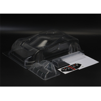 TC787 1/12 Scale 787 Toys Model Clear PC Body Shell With Lights Cup Wings Kits 208MM Wheelbase