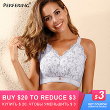 Perfering Thin Bra Plus Size Big Full Cup Sexy women Brassiere C D E F Push Up Underwear Adjustment  BH Female Large