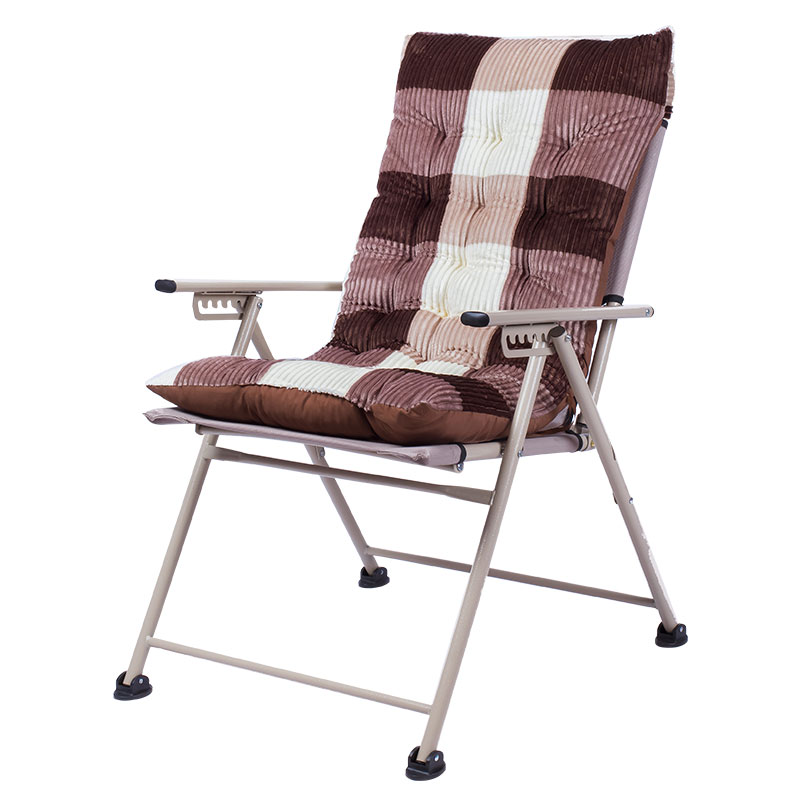 Folding Chair Balcony Home Leisure Lounge Chair Lazy Chair Office Lunch Break Nap Bedroom Dormitory Chair