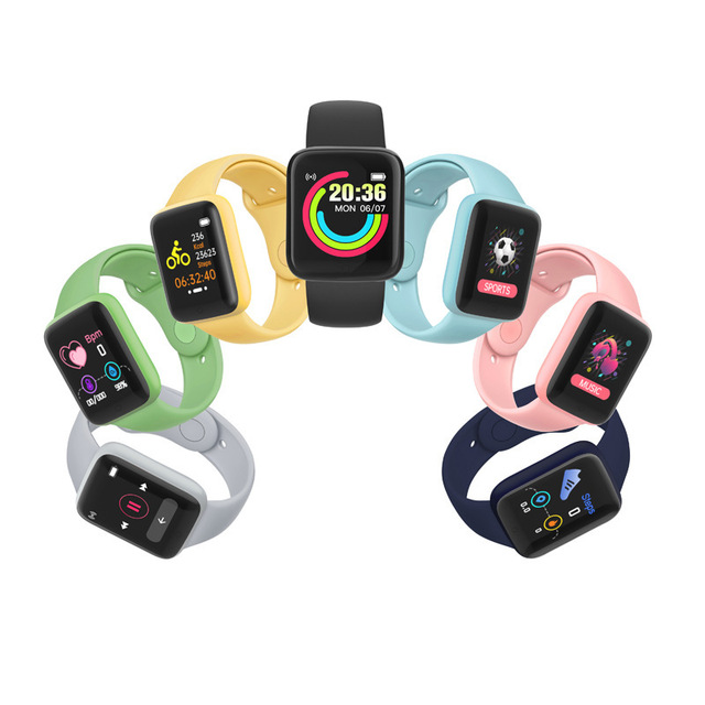 FEOOE Macarone Smart Bracelet Macarone Cross Border New Heart Rate and Blood Pressure Multifunctional Bluetooth Watch Yxm 1