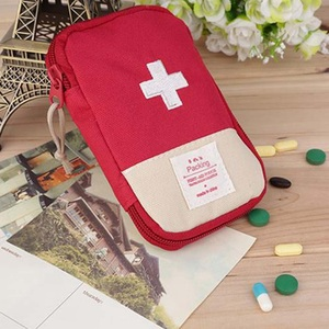 Image 3 - Outdoor First Aid Emergency  Bag Medicine Drug Pill Box Home Car Survival Kit Emerge Case Small 600D Oxford Pouch
