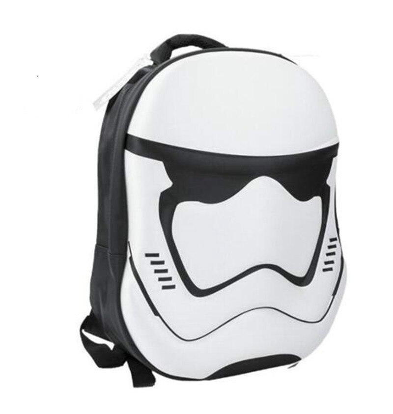 3D Star Wars Backpack Backpack Movie Star Wars Cosplay Props Imperial Stormtrooper Darth Vader Cos School Bag Backpack Fashion