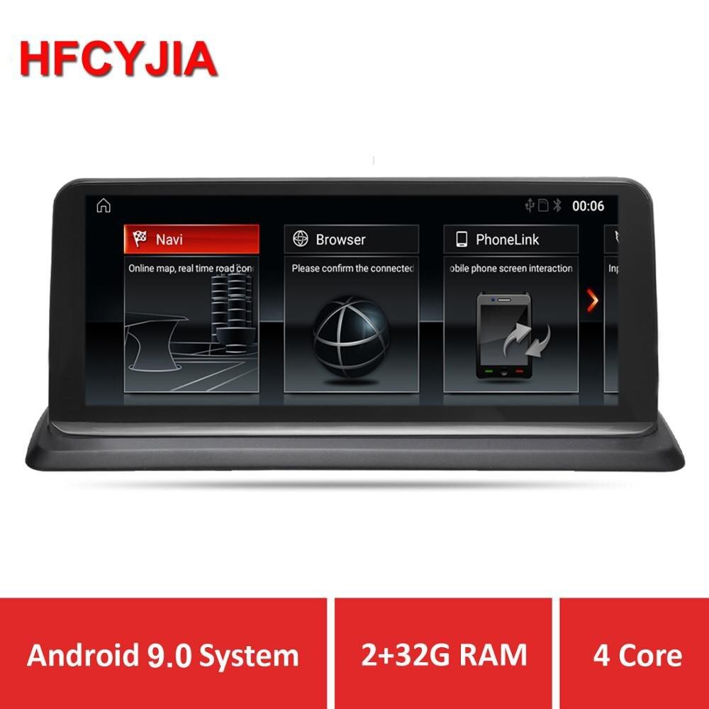 "HFCYJIA 10.25"" Android 9.0 System Car Screen Player For BMW E87 E81 E82 E88 2005-2012 GPS Navi Stereo WIFI Google BT 2+32G IPS"