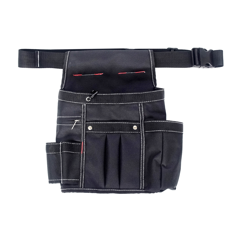 Garden Tool Belt Waist Tool Bag Canvas Tool Pouch With Adjustable Strap Multiple Pockets Electrician Tools Organizer