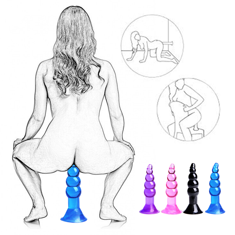 Realistic Dildo Anal Plug Sex Toys For Woman Couples No G Spot Vibrator Butt Plug Strap On Penis Suction Cup Silicone Sex Shop