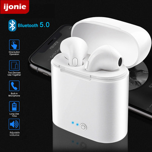 i7 Mini Wireless Headphones i7s TWS Bluetooth Earphones In-ear Earbuds Sports Headsets for Android IOS pk i9000 pro tws i90000