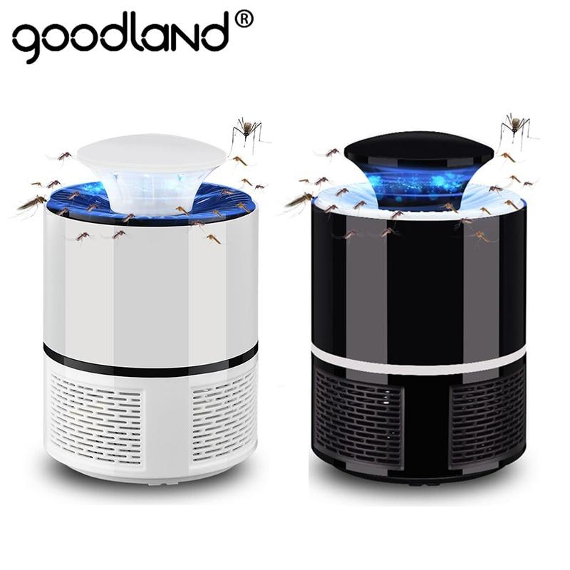 Goodland светодиодный светильник для уничтожения комаров, USB, против комаров, Электрический жук, бесшумная ловушка для комаров, убийца насекомы...