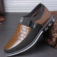 Leder Schuhe Männer Casual Schuhe Müßiggänger Mocasines Hombre Atmungs Slip auf Turnschuhe Männer Schuhe Leder Zapatos De Hombre